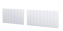 Split Matt White Bath Panels